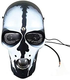 Universal LED Adjustable Skull Head Light Headlight With Mount Bracket Motorcycle For Harley Honda Dual Sport bike Cruiser Bobber Chopper