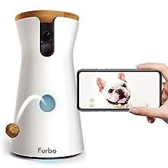 Furbo ドッグカメラ [ファーボ] - AI搭載 wifi ペットカメラ 犬 留守番 飛び出すおやつ 見守り 双方向会話 スマホ iPhone & Android 対応 アカウント共有 写真 動画 商品名