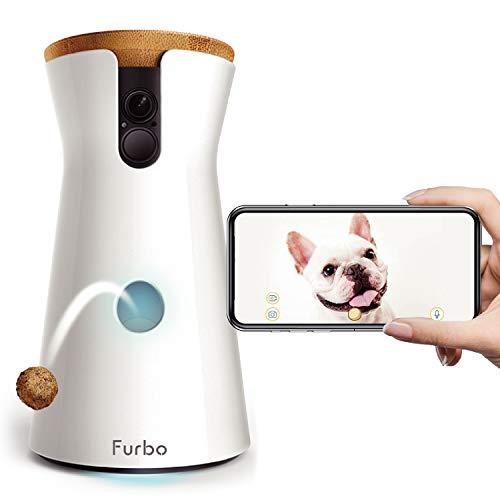 Furboドッグカメラ [飛び出すおやつ] AI通知 双方向会話 ペットカメラ 犬 留守番 見守り wifi スマホ ( iOS...