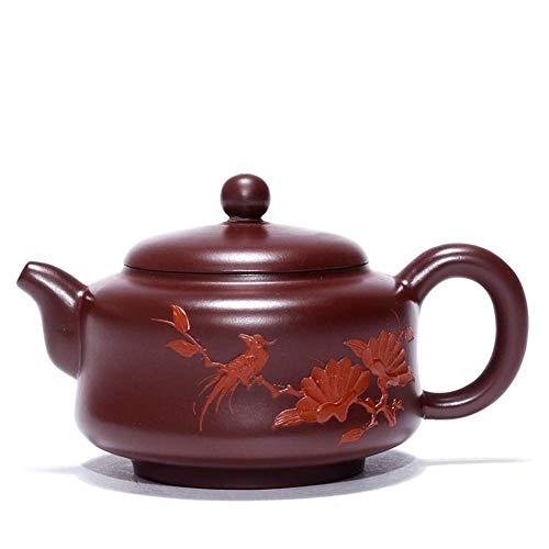 ADSE Tea Maker Pot Magpies Explosion Models Tea Teapot Teapot Tea Cup Chun Tak-Purple Zhuni (Color : Purple Zhu Mu, Size : One Size)