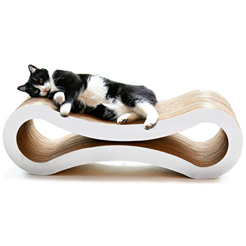 PetFusion Ultimate Gato rascador Lounge, tamaño Grande, diseño de Nube,...