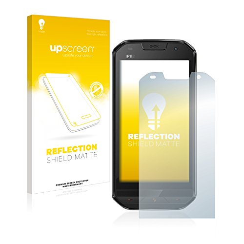 upscreen Entspiegelungs-Schutzfolie kompatibel mit Doogee S30 – Anti-Reflex Bildschirmschutz-Folie Matt