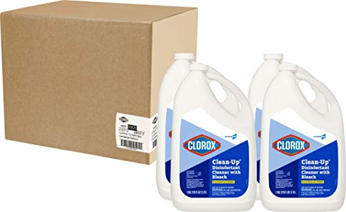 Clorox Commercial Solutions Clorox Clean-Up All Purpose Cleaner with Bleach - Original, 128 Ounce Refill Bottle, 4 Bottles/Case (35420)