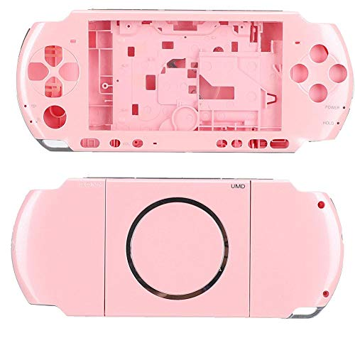 Full Housing Shell voor PSP 3000, draagbare en compacte gameconsole Full Housing Case met schroevendraaier voor Sony PSP 3000 Playstation (roze)