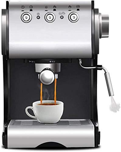 Koffiemachine Halfautomatische espressomachine met melkkan Frother Koffiemachines met melkkan Roestvrij staal