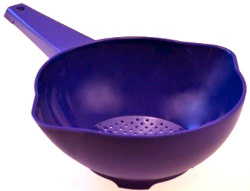 Tupperware - ZUBEREITEN 1a Tupper Durchschlag Sieb Goldregen Sommersieb - lila blau