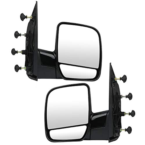 ECCPP Folding Manual Side View Mirrors Left & Right Pair Set for 2002 2003 2004...