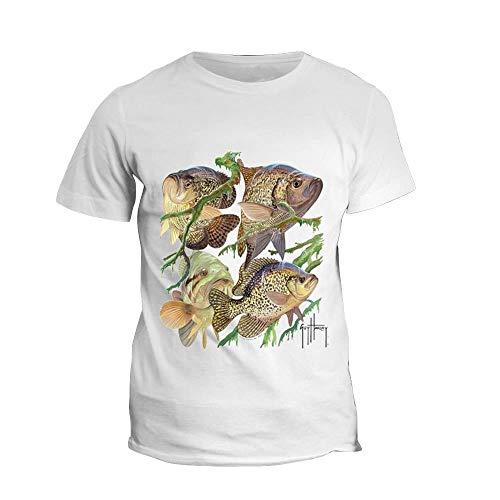 Weike Camiseta de manga corta para pesca de verano de 2020 con impresión de la camiseta de pesca de mar (talla XXL)