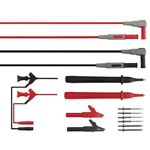 MJJEsports P1300C Multifunctionele Verstelbare Naald Multimeter Test Pen Clip Test Line