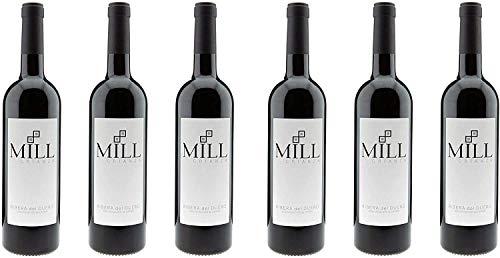 Mill Crianza - Vino Tinto - Ribera Del Duero Denominación De Origen (6 x 750 ml)