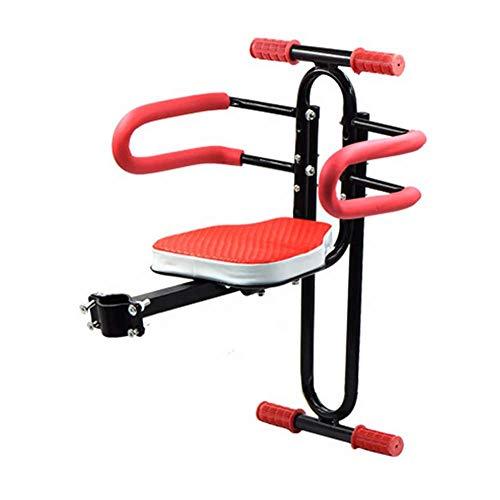HFJKD Kinderfahrradsitz Tragbarer ultraleichter Baby-Fahrradträger mit Handlauf für Mountainbikes Hybrid-Bikes Fitness-Bikes