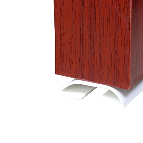 Lvguang Tür unten Dichtung Wetter Abisolieren unter Tür Draft Stopper Direct Energy Saver Ersatzdichtung Schalldichtung Weiß Länge: 915mm