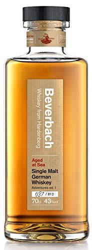 """Beverbach Single Malt German Whiskey Adventures Edition I, 15.500 Seemeilen auf der AVONTUUR im Rahmen der """"Mission Zero"""" gereift, 43% vol. Single Malt Whisky, 0.7 l"""