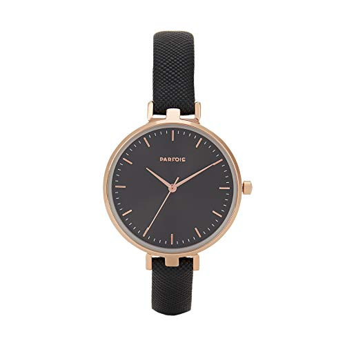 Parfois - Reloj De Pulsera Grabada - Mujeres - Tallas Única - Negro