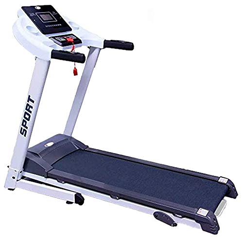 CENTURFIT Caminadora Electrica 2Hp Motor Plegable Gym Inclinacion Manual Walk Pantalla LED 12 Programas