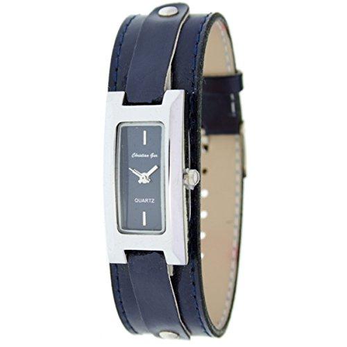 Reloj analógico de señora Christian Gar Mod.Cullera 7237- Color Azul