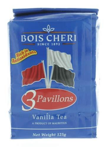 Bois Cheri Trois Pavillons (Vanille Geschmack) 125g loser Schwarztee aus Mauritius