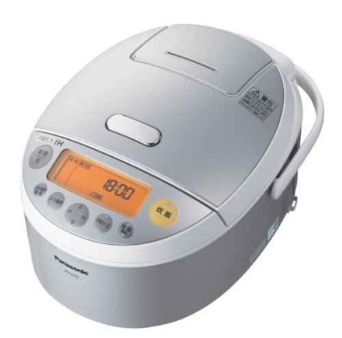 Panasonic: IH Jar Variable Pressure Rice Cooker SR-PA102-S Silver (Japan Import)
