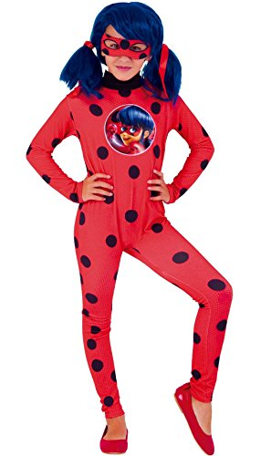 Ladybug – Miraculous kostuum, XL (Rubie 's Spain 640588-xl)