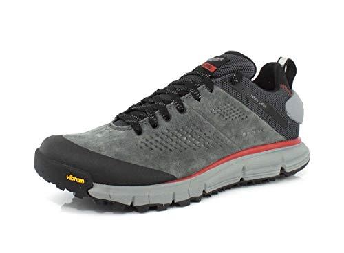 "Danner Men's 61200 Trail 2650 3"" Gore-Tex Hiking Shoe, Dark Gray/Brick Red - 10.5 D"