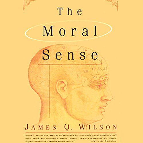 The Moral Sense  audiobook cover art