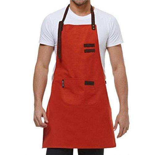 LDONGPENG LD&P geschikt voor mannen en vrouwen schorten, duurzame anti-fouling, een tas, verstelbare grootte, familiekeuken schorten.