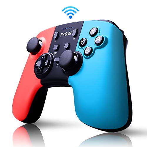 Pro Wireless Controller for Nintendo Switch - Remote Pro Controllers Gamepad Joypad Joystick for Nintendo Switch Console Supports Gyro Axis & Turbo & Dual Vibration [Update Version]