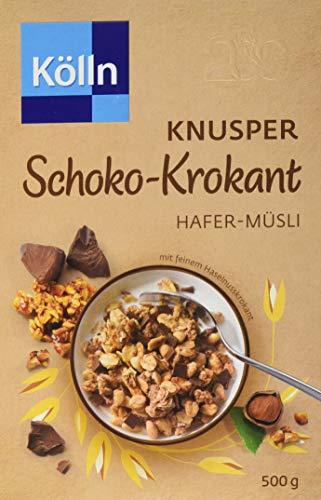 Kölln Müsli Knusper Schoko Krokant, 7er Pack (7 x 500 g)