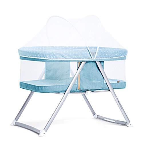 HLR kinderbed, reisbedden, draagbaar, opvouwbaar, multifunctioneel, dual gebruik, eenvoudige Europese stijl, babywieg A