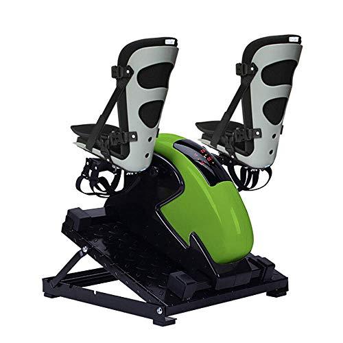 Ejercitador Pedal motorizado piernas y Brazos, Mini Bicicleta estática Soporte protección Las piernas y Base Metal - Ejercitador Pedal eléctrico Personas Mayores, discapacitados, discapacitados y so
