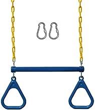 Jungle Gym Kingdom Swing Sets for Backyard, Monkey Bars & Swingset Accessories - Set Includes 18