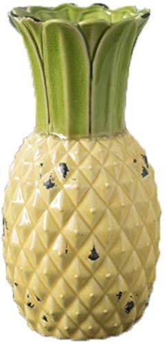 Ananas vormige keramische vaas Home Decoration zonder bloemen (Color : Large)