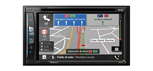 Pioneer AVIC-Z720DAB inkl. DAB-Antenne/Navigation mit CarPlay, AndroidAuto, USB, Bluetooth und WiFi