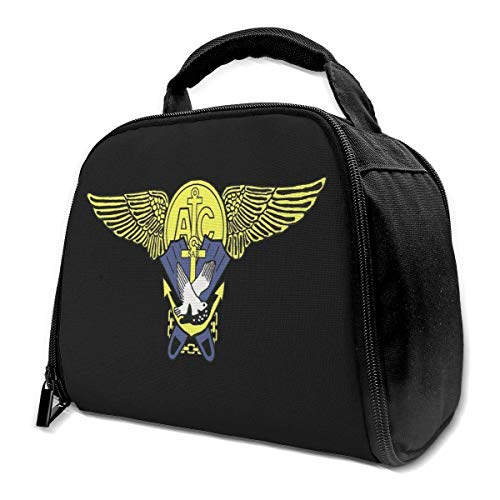 US Navy Badge Search and Rescue Swimmer Isolierte Tasche Lunchtasche Isolierte Lunchbox Tote Bag Kühltasche für Picknick Arbeit