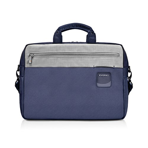 Everki 72595 Commuter Briefcase - Laptop Bag – Briefcase fits up to 15.6-inch – Navy