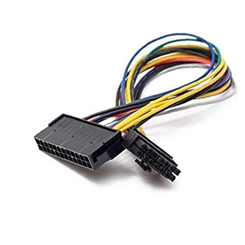 1 PC Al Reemplazo De 24 Pines A 14 Pines Cable ATX PSU Profesional Adaptador De Corriente Principal Compatible con IBM Lenovo