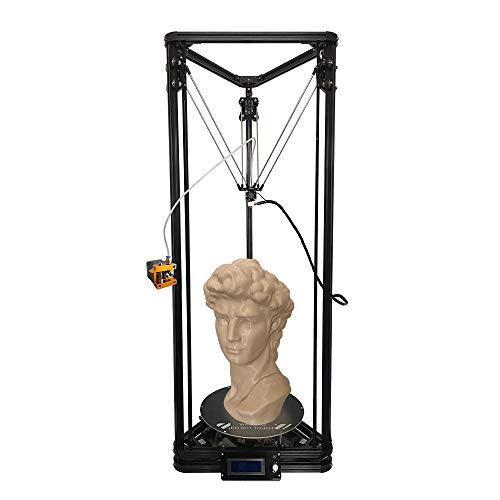 HE3D K280 DIY Delta 3D Printer kit With Large Printing Size Of 280X600mm And Fast Heating Bed to 110 Degree