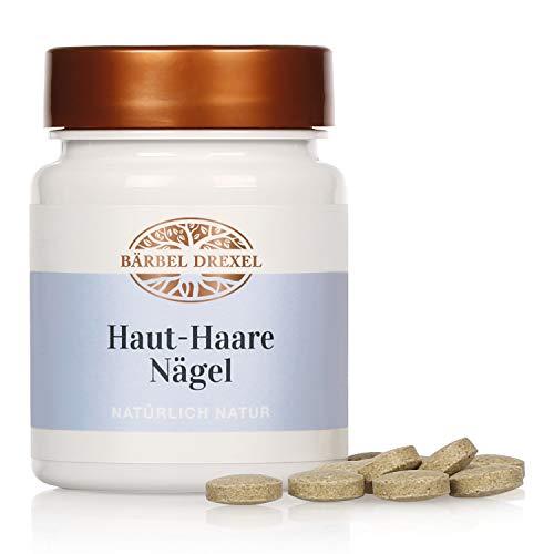 BÄRBEL DREXEL® Gesunde Haut Haare Nägel Kapseln, Hirse-Samen-Extrakt, Zink, Kieselsäure, Selen (102 Stk) 100% Vegane Herstellung Deutschland Haar-Vitamine