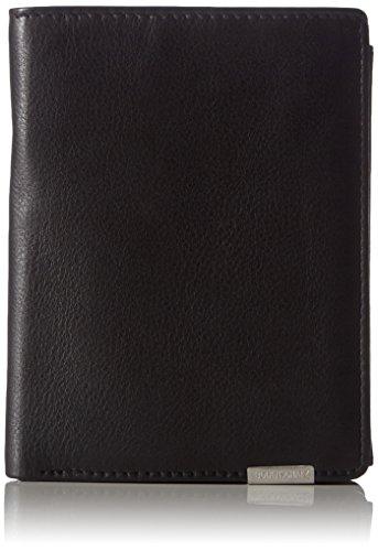 Bodenschatz Unisex-Erwachsene Geldbörsen, Schwarz (Black 01), 10x13x2 cm