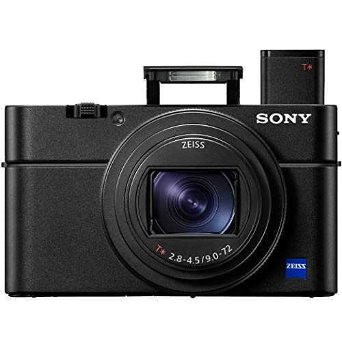 Sony Cyber-Shot RX100 VII RX100M7 4K UHD Camera DSC-RX100M7 w/Zeiss 24-200mm Zoom Lens Power Bundle with Deco Photo Strap w/Built in Camera…