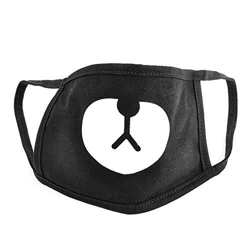 fenglang Fashion Schwarz Face Maske Panda Bape Maske Bär Mund