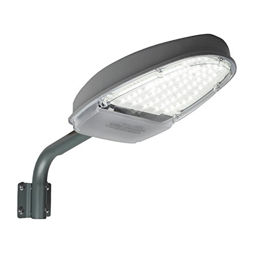eoere 24W LED Street Area Lighting 2500lm 144 LEDs 6500K Dusk to Dawn Sensor Waterproof IP65 Security Floodlight Yard Wall Post Outdoor Lights