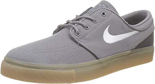 Nike Stefan Janoski (GS), Zapatillas de Skateboard para Niños, Gris (Gunsmokesea/White/Thunder Grey/Gum Lt Brown 025), 35 1/2 EU