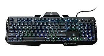 IOGEAR Kaliber Gaming HVER Gaming Keyboard with RGB - GKB704D