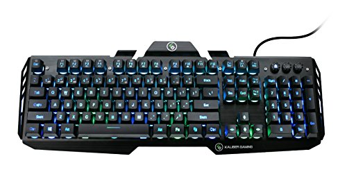 IOGEAR Kaliber HVER RGB Aluminum Gaming Keyboard, GKB704RGB