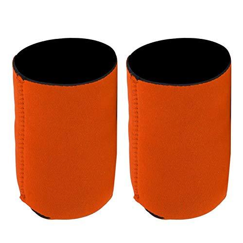 SALUTUY Funda de Botella de Neopreno Suave con Funda Aislante Ligera para Botella, para Uso en Exteriores(Orange)