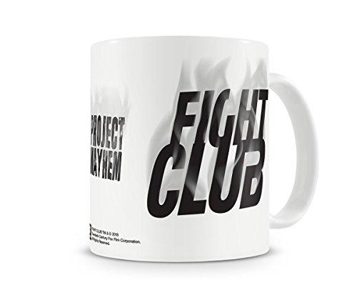 Oficialmente Licenciado Fight Club - Project Mayhem Taza cerámica de café