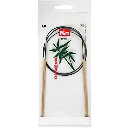 Prym Rundstricknadel Bambus Länge 80 cm Stärke 4,0 mm