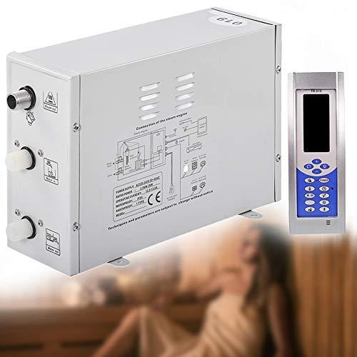 YJINGRUI Dampfgenerator Sauna-Bad-Dämpfer für Home SPA mit digitaler Steuerung Temperatur und Timing, 220V 3KW