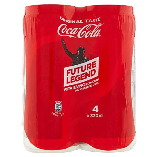 Coca-Cola Original Taste 330 ml - 4 lattine